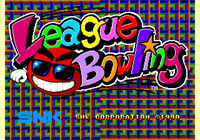 Video Game: League Bowling