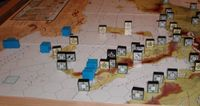 End of July '43.  The Allies began with two blitz invasions, not quite where I expected them!