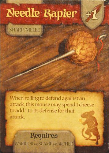 Board Game: Mice and Mystics: Needle Rapier