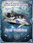 RPG Item: The Edge of Space 1: Grav Vehicles