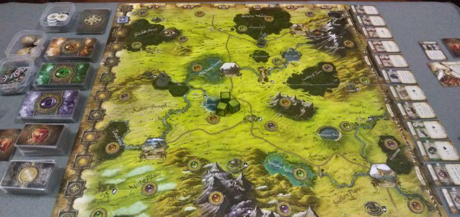 Runebound 3rd Edition Board Game