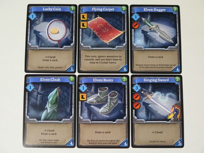 Image result for clank game deck building cards