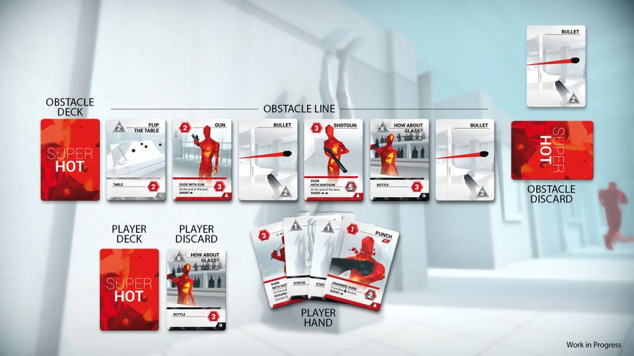 Game area (SUPERHOT the Card Game)