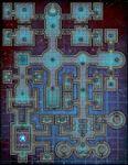 RPG Item: VTT Map Set 134: Star Searcher Station