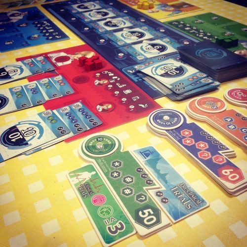 Board Game: Medical Frontier