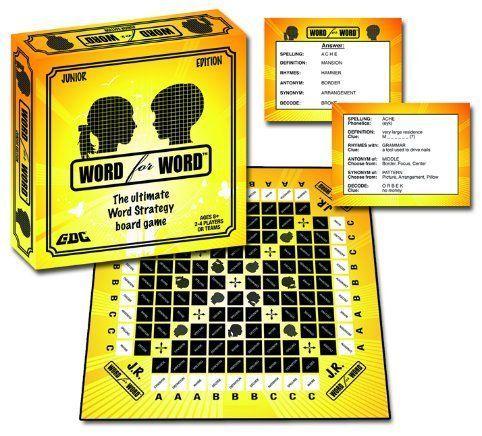 word form junior Word for Word Junior  Board Game  BoardGameGeek