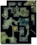 RPG Item: GameMastery Flip-Mat: Haunted Dungeon
