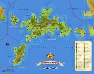RPG Item: Calidar: The Kingdom of Meryath Poster Map