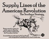 Board Game: Supply Lines of the American Revolution: The Southern Strategy