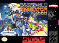 Video Game: Super Baseball Simulator 1.000