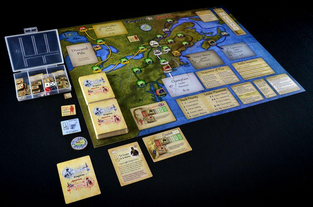 Board Game: Empires in America (Second Edition)