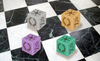 Board Game Accessory: Roll Through the Ages: Iron Age – Fate Dice
