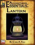 RPG Item: Adventurer Essentials: Lantern