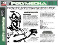 RPG Item: Weapons of Power Armor Destruction 4