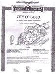RPG Item: FMQ1: City of Gold