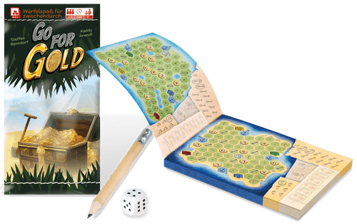 Board Game: Go for Gold