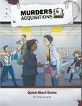 RPG Item: Murders & Acquisitions Quick-Start Guide