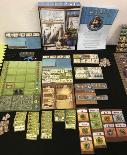 Board Game: Fields of Arle: Tea & Trade