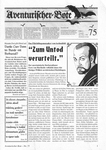 Issue: Aventurischer Bote (Issue 75 - Nov/Dec 1998)