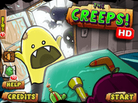 Video Game: The Creeps!