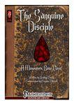 RPG Item: The Sanguine Disciple: A Maneuvers Base Class