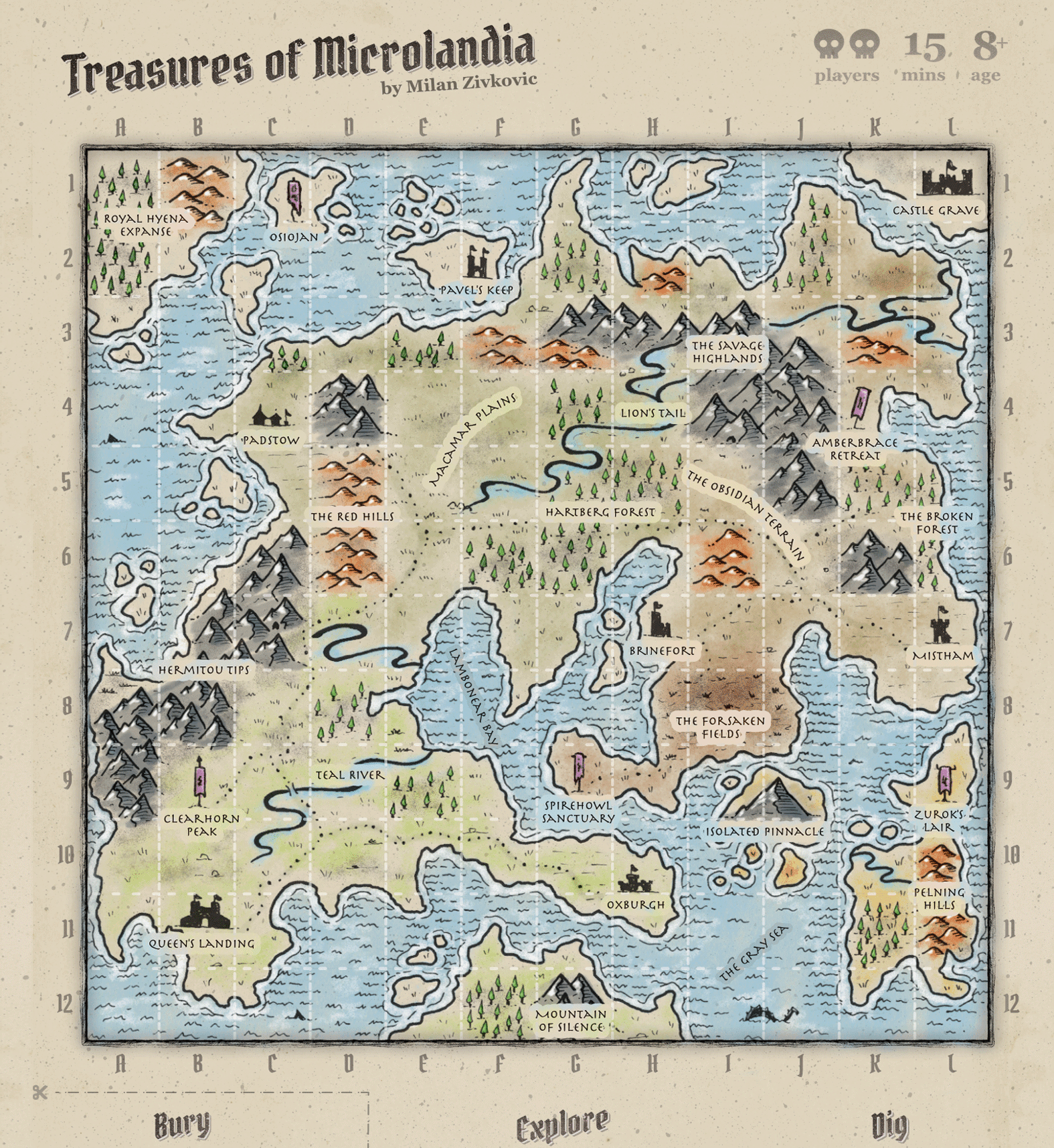 Treasures of Microlandia