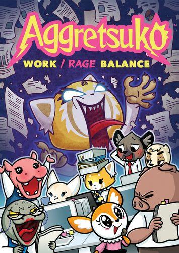 Board Game: Aggretsuko: Work/Rage Balance