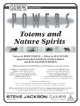 RPG Item: Totems and Nature Spirits