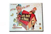 Board Game: Captain Kangaroo Let's Build a House