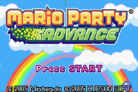 Video Game: Mario Party Advance