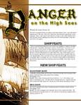 RPG Item: Danger on the High Seas