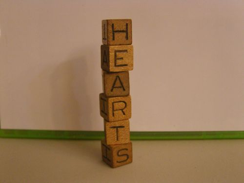 Board Game: Hearts: An Exciting Letter Game