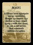 Self made Mars card