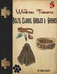 RPG Item: Wondrous Treasures: Belts, Cloaks, Girdles & Sashes