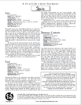 RPG Item: A Twin Crowns: Age of Exploration Fantasy Supplement - Spells