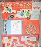 Board Game: Cars N' Trucks Build-A-Game