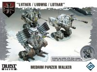 """Board Game: Dust Tactics: Medium Panzer Walker – """"Luther / Ludwig / Lothar"""""""