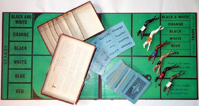 Board Game: Derby Dog Race Game