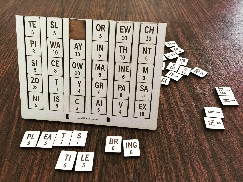 Sliders Word Game