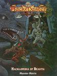 RPG Item: Hacklopedia of Beasts: Monster Matrix