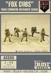 "Board Game: Dust Tactics: NDAK Command Grenadier Squad – ""Fox Cubs"""