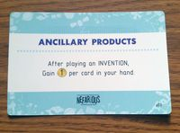 Board Game: Nefarious: Ancillary Products