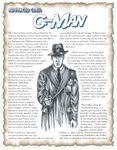 RPG Item: Advanced Class: G-Man