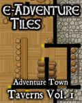 RPG Item: e-Adventure Tiles: Adventure Town Taverns Vol. 1
