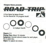Board Game: Road Trip
