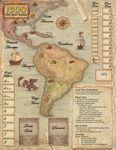 Board Game Accessory: 1500: The New World – Neoprene Mat