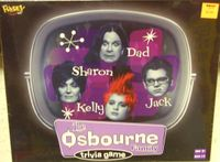 Board Game: The Osbourne Family Trivia Game