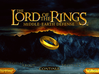 Video Game: The Lord of the Rings: Middle-earth Defense