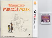 Video Game: Professor Layton and the Miracle Mask