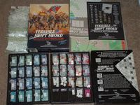 Board Game: Terrible Swift Sword: Battle of Gettysburg Game
